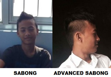 Filipino male hairstyles as part of filipino grooming