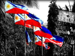 Filipino flags and national pride nationalism