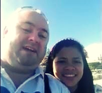 Brendan and Lovely - Down Under Visa clients giving a positive review and testimonial of Down Under Visa, Registered Migration Agents in Manila Philippines