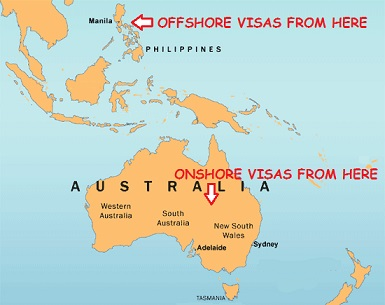 onshore partner visa versus offshore partner visa