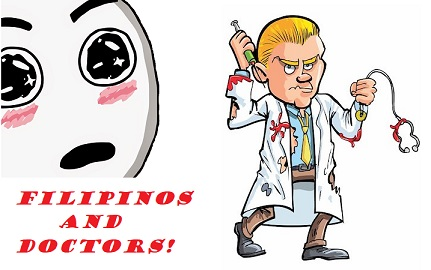 Filipinos and doctors and medicine. Medicine and doctors in Philippines. Philippines medical issues and doctors.